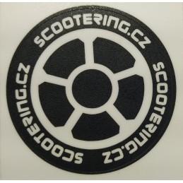 Griptape samolepka SCOOTERING.cz Kolečko | 60mm