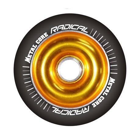 Kolečko METAL CORE Radical Gold/B 110mm s ložisky ABEC-9