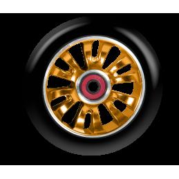 Kolečko MGP MADD GEAR Vicious 110mm Oranžový střed/Černá guma (Black/Orange)