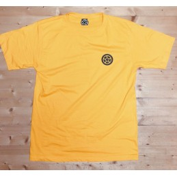 Tričko SCOOTERING Gildan Heavy Cotton | YELLOW GOLD