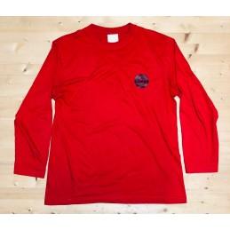 Tričko SCOOTERING Bavlna Classic | Dlouhé rukávy | RED-DLR