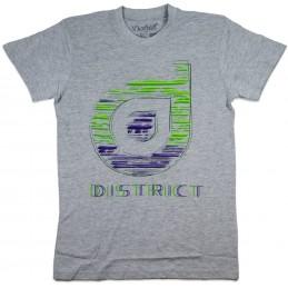 Tričko DISTRICT Supply Co Sketch  GREY-XL