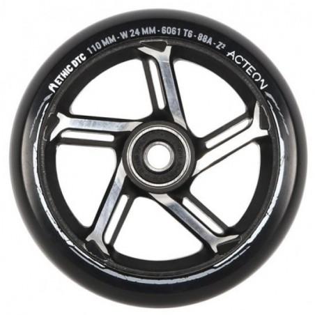 Kolečko ETHIC Acteon 110mm|88A| BLACK RAW