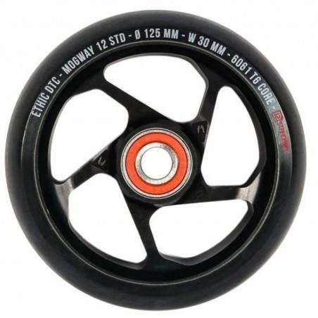 Kolečko ETHIC Mogway 12STD 125mm | 88A | BLACK