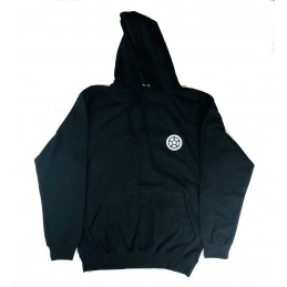 Mikina SCOOTERING Long Hoodie s kapucí | BLACK