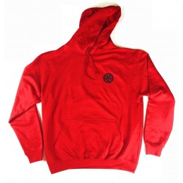 Mikina SCOOTERING Hoodie s kapucí | FIRE RED