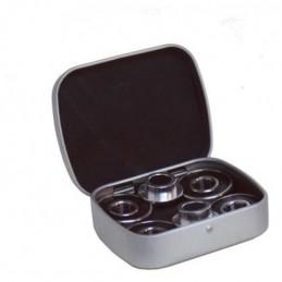 Ložiska BLUNT ABEC-9 | 4ks ložisek + 2ks spacers v krabičce