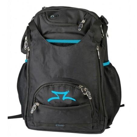Batoh AO Transit Backpack   BLACK-TURQUOISE