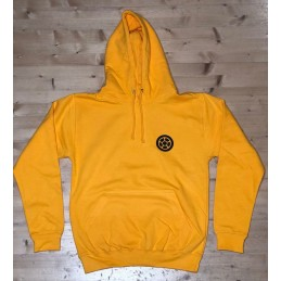 Mikina SCOOTERING.cz Long Hoodie s kapucí | YELLOW