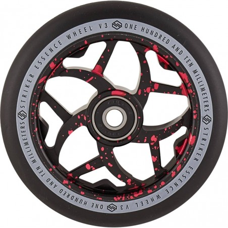 Kolečko STRIKER Essence V3 110mm | 88A | ABEC-9 | BLACK-RED SPLASH