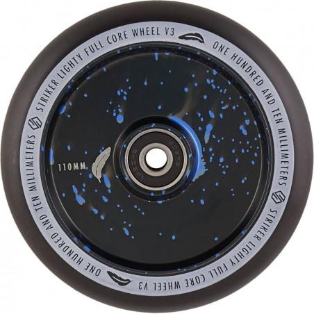 Kolečko STRIKER Lighty Full Core V3 110mm | 88A | ABEC-9 | BLACK-BLUE SPLASH