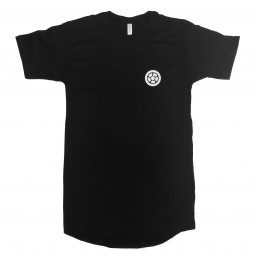 Tričko SCOOTERING Canvas Long Body Urban Tee | LB BLACK