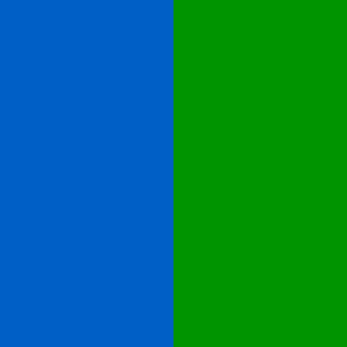 Modrá/Zelená (Blue/Green)